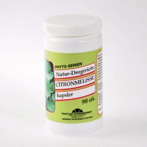 Natur Drogeriet Citronmelisse 300 mg (90 kapsler)