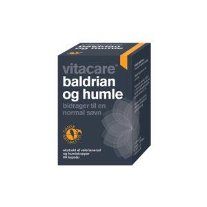 VitaCare Baldrian og Humle - 60 Tabletter